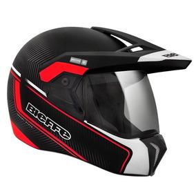 Capacete Para Moto Bieffe 3 Sport Stato Masculino