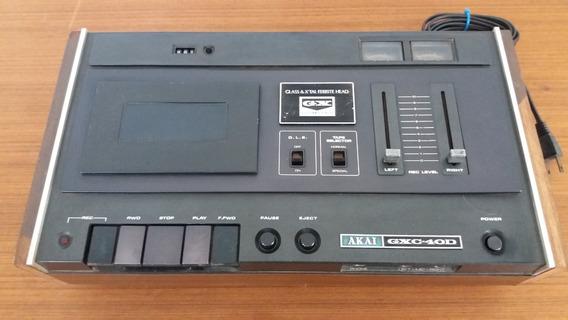 Tape Deck Akai Gxc-40d Japonês (no Estado)
