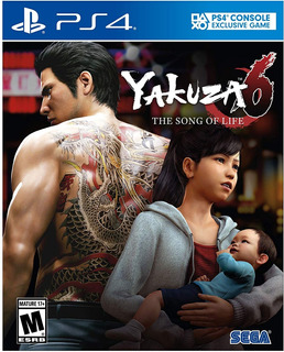 Yakuza 6: The Song Of Life - Essence Of Art Edition Ps4 Nuev