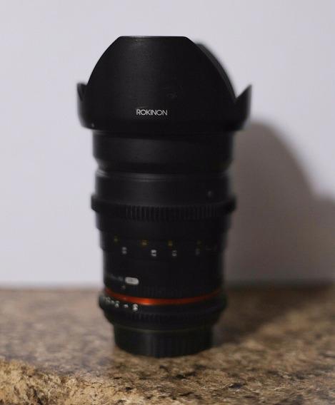 Lente Rokinon Cine 35mm T1.5