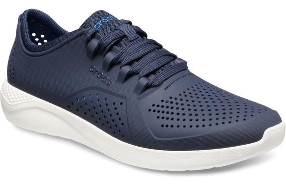 Zapatillas Crocs Literide Pacer M Azul Envíos A Todo El País