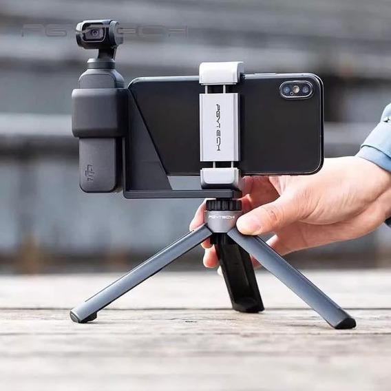 Kit Mini Tripé + Holder Pgytech Pra Osmo Pocket