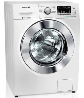 Lavadora E Secadora De Roupas Samsung 11kg, Air Wash E Ecobubble, Branca - Wd11m44530w - 220v
