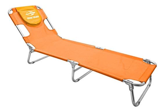 Cadeira Espreguiçadeira Em Alumínio Mormaii