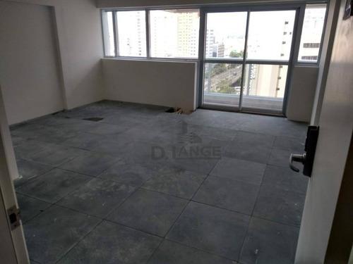 Sala À Venda, 34 M² Por R$ 290.000 - Centro - Campinas/sp - Sa1804