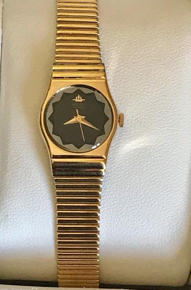 Reloj Seiko Dorado Oro Dama Vintage
