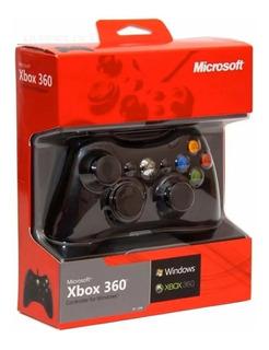 Control Para Xbox 360 Y Pc Alambrico Blanco Nuevo