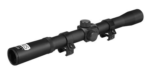 Imagem 1 de 8 de Luneta Carabina Pressao 4x20 Espingarda/rifle 5.5 Cbc Rossi
