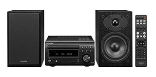 Denon System With Bluetooth Fm Am Tuner Cd Player Black
