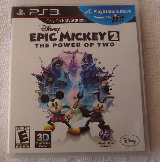 Epic Mickey 2 Ps3 Leg Portugues ** Frete Gratis Leia
