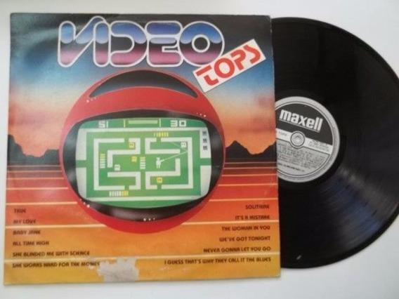 Lp Vinil - Video Tops - Coletanea Rock Pop Internacional