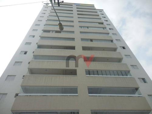Apartamento Residencial À Venda, Campo Da Aviação, Praia Grande. - Ap0017
