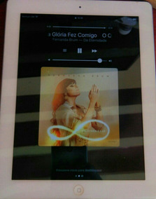 Vendo iPad 4 Branco Tela De Retina De 64gb Wi-fi 4g