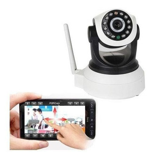 Camara Robotica Wifi Ip Full Hd Robotica 360 Grados