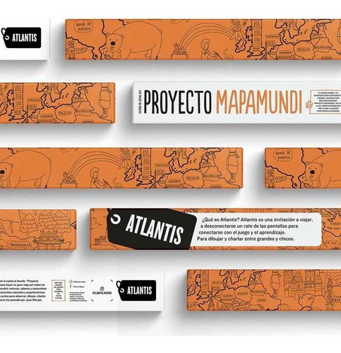 Atlantis Mapa Proyecto Mapamundi Para Colorear