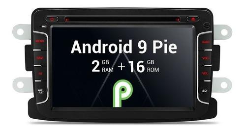 Imagen 1 de 10 de Android 9.0 Renault Duster Sandero Logan Stepway Dvd Gps Usb