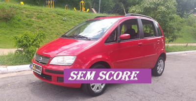 Fiat Idea 2007 Baixa Entrada Financiamento Com Baixo Score