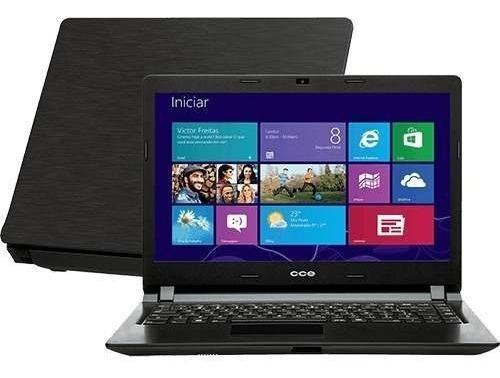 Notebook Cce Ultra Thin Dual Core 4gb Ddr3 Hd 320gb Windows