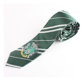 Corbata Slytherin Hogwarts De Harry Potter Bordado