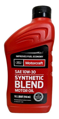 Aceite Semi-sintético 10w-30 Motorcraft Original