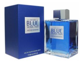 Perfume Blue Seduction -- Caballero - Antonio Banderas 200ml