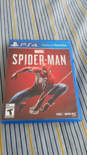 Marvel Spiderman Ps4