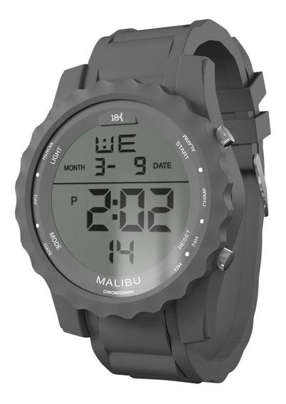 Relogio 18k Watches Malibu Original Frete Grátis