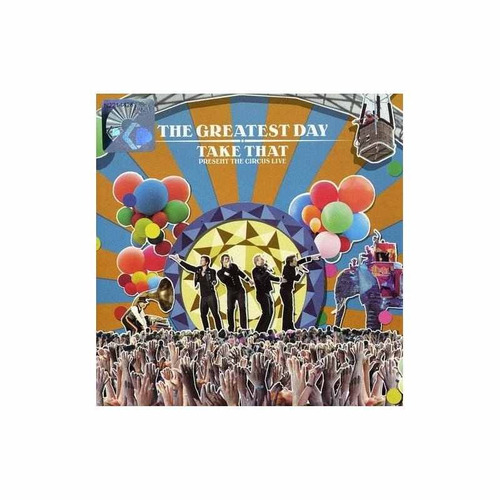 Take That Greatest Day Take That Present The Circus Live Cdx Mercado Libre