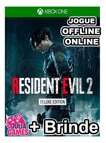 Resident Evil 2 Deluxe Edition Xbox One Digital + Brinde