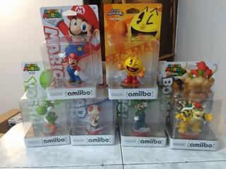 Amiibo Mario Bros Nintendo Luigi Yoshi