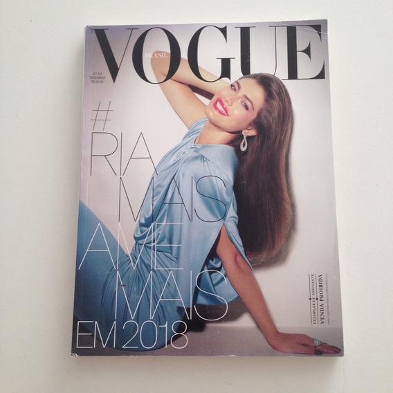 Revista Vogue Brasil 472 Dez107 Ria Mais Ame Mais Em 2018 C2