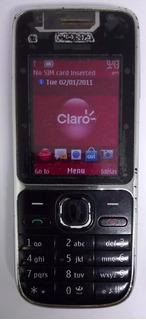 Nokia C2-01 Câm 3.2mp,3g, Fm,mp3 Preto Original Semi Novo