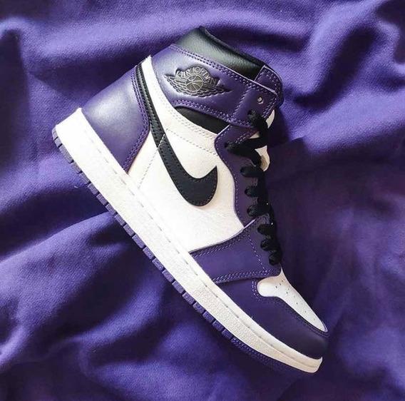 Jordan 1 Court Purple 8 Mx
