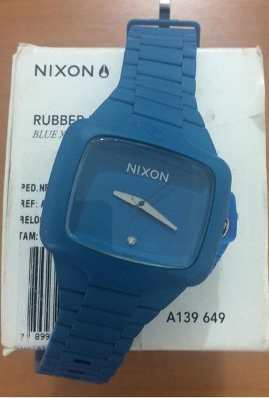 Relógio Nixon Rubber Player Novo Na Caixa