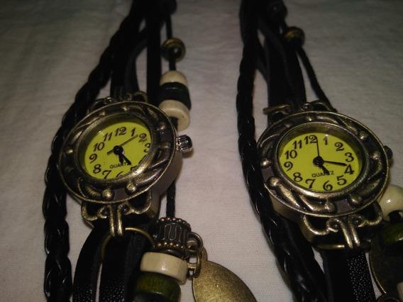 Relógio Feminino Analógico Vintage Couro Original !!