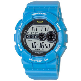 Relógio Masculino Surf More Resistente À Água 4010491m Azul