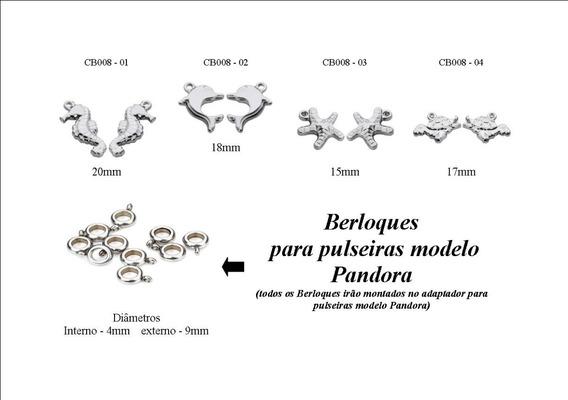 Hoss - Combo Berloques Modelo Pandora