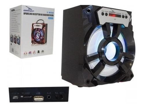 Caixa De Som Bluetooth Portatil 15w Vermelha