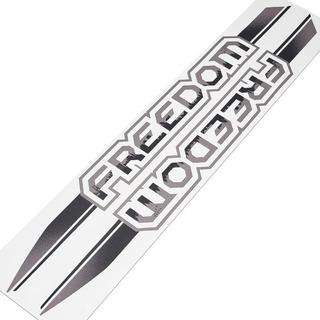 Adesivos Emblema Fiat Strada Freedom Modelo Original - Par