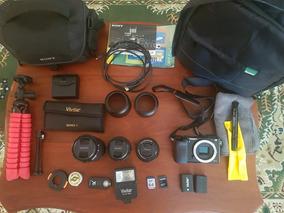 Câmera Digital Sony Alpha A6000 Mirrorless Full Hd