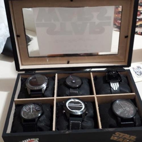 Coleção De 5 Relógios  Da Chilli Beans Star Wars + 1 Infanti