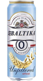 Baltika Weiss Zero Álcool Lata 450ml