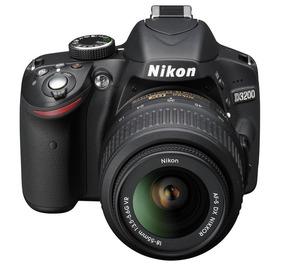 Camera Nikon 3200 + Acessorios