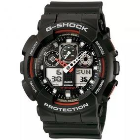 Relógio Casio G-schok Casio Ga-100-1a4dr 11302 Original