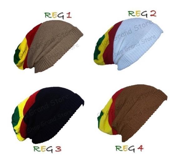Touca Gorro Rasta Reggae Bob Marley