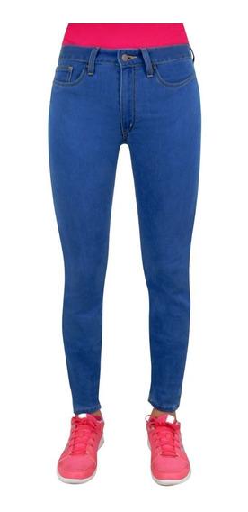 Jeans Breton De Mezclilla Para Dama. Skinny Fit. Est. Bjw011