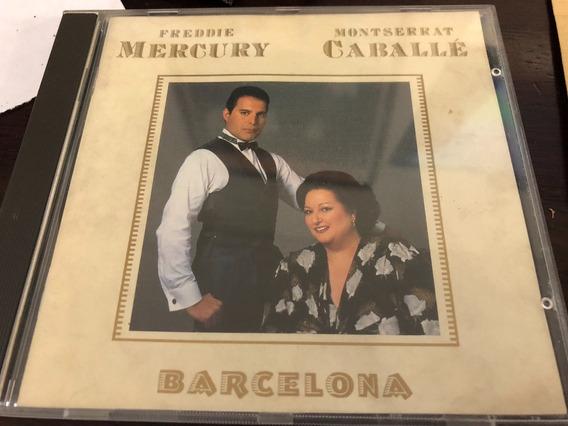 Barcelona Freddie Mercury Montserrat Caballe Cd Importado