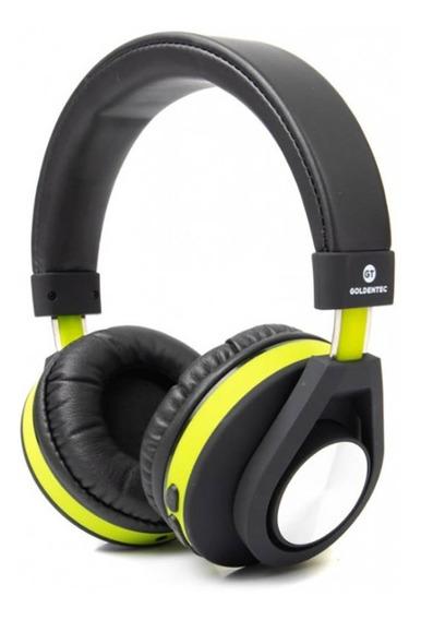 Headphone Bluetooth Follow Goldentec Verde Gt5btvd - Ac1983