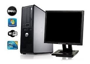 Computador Dell Intel Core + Monitor 17 Lcd + Wi-fi