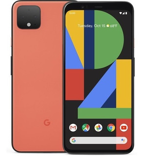 Google Pixel 4 Xl 64gb Oh So Orange, Edição Limitada, 12x!